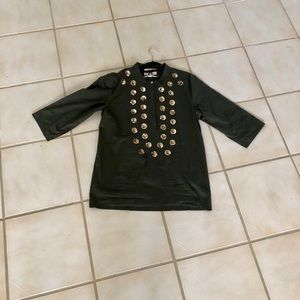 Tops - Beautiful olive green tunic size Large
